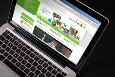 Дизайн сайта проекта Дорога к дому